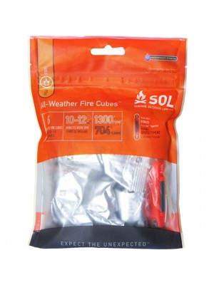 Survive Outdoors Longer® All-Weather Fire Cubes